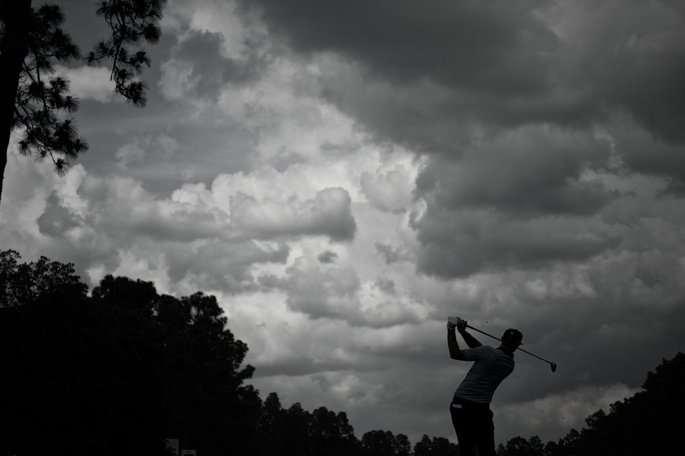 Dustin Johnson, 2014 U.S. Open  #2 Course, Pinehurst, North Carolina