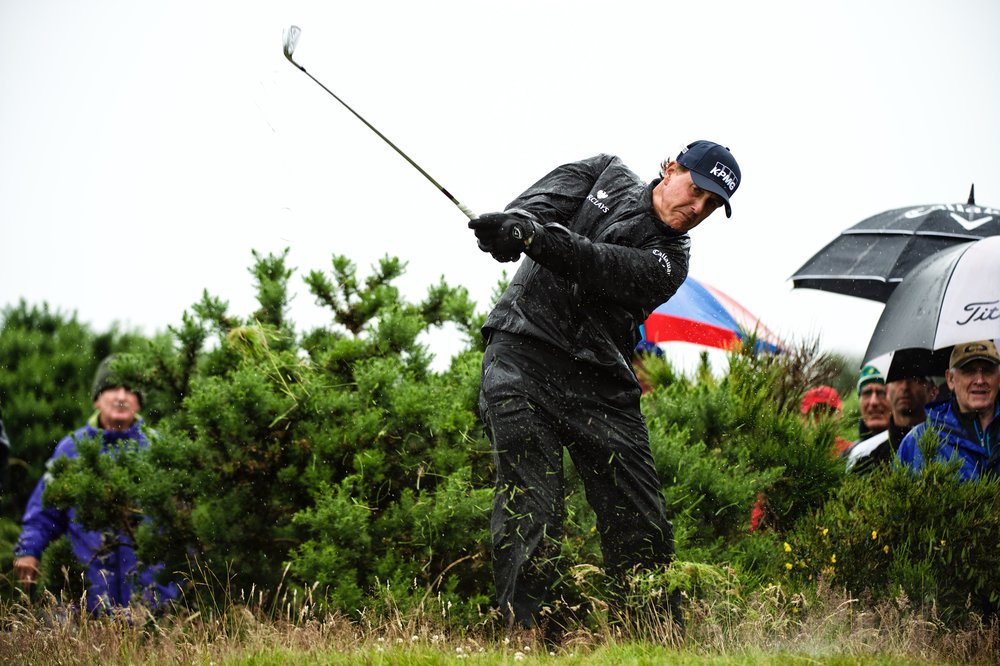 Phil Mickelson, 145th British Open Royal Troon Golf Club, Ayrshire, Scotland