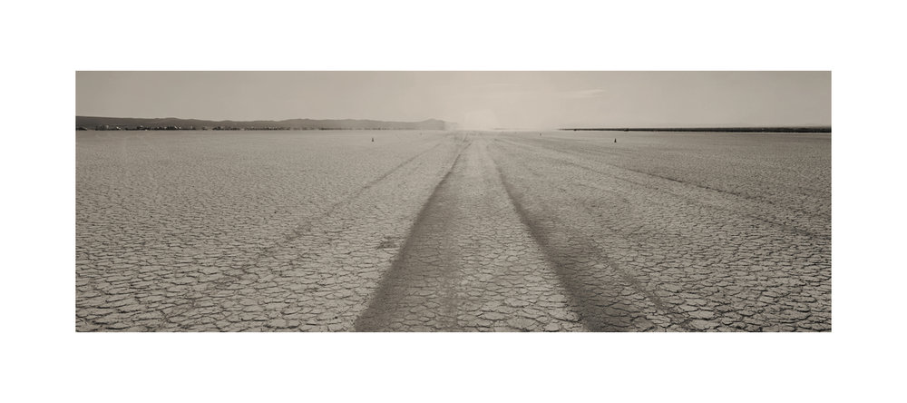 Down the line. El Mirage, California