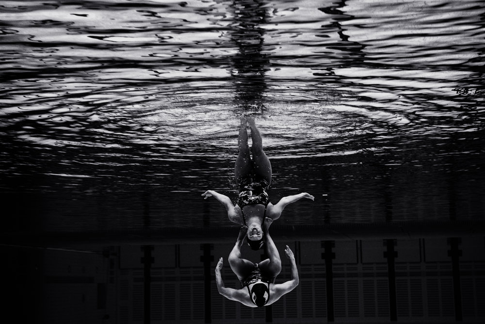 U.S.A. synchro swimmers  London Olympics  London, U.K.