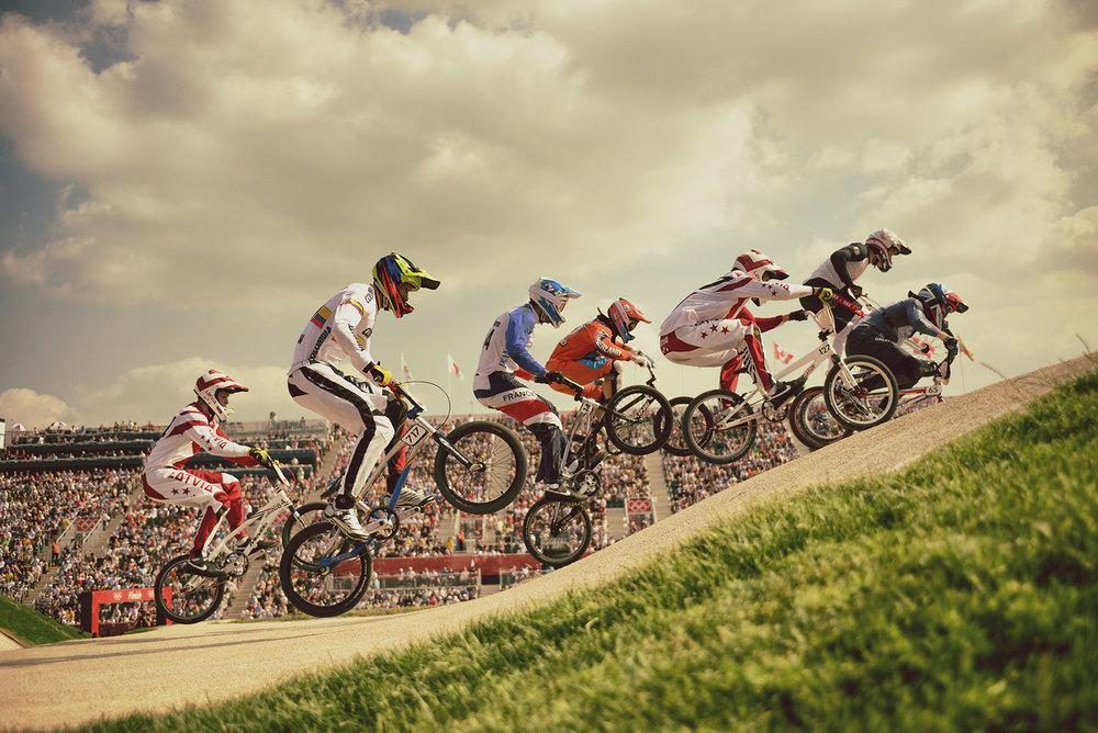 London Olympics  BMX