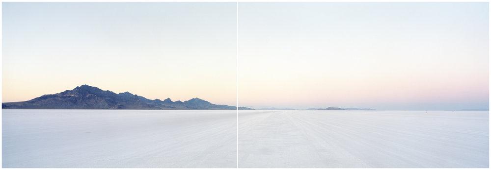 Bonneville Salt Flats  Wendover, Utah