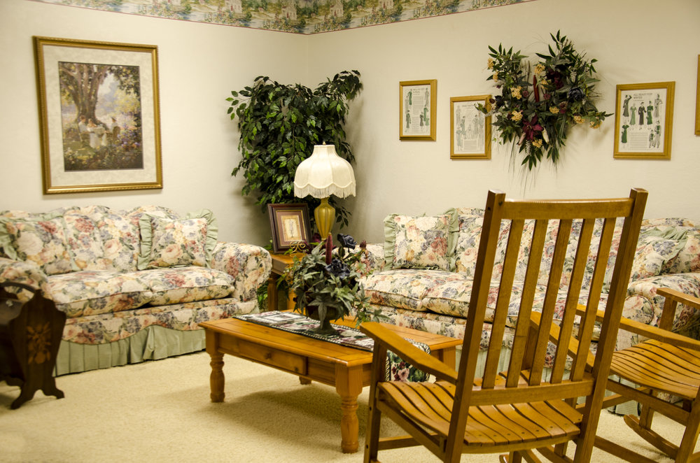 """Stitch-in-Time"" Sitting Room at Somerset Court-Minot"