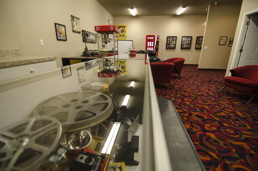 Snack Bar in Lobby of Movie Theater at Somerset Court - Minot