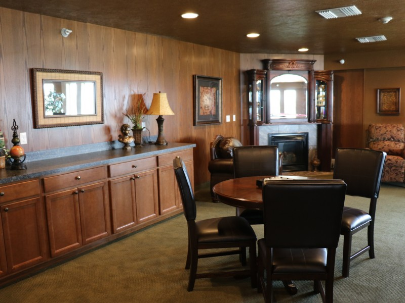 "Sit, Relax & Visit in ""The Club"" at Somerset Court - Minot"