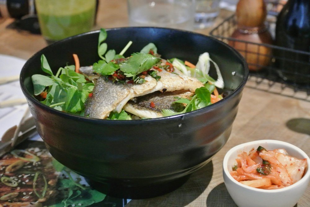 Wagamama Summer Menu - Grilled Bream Donburi