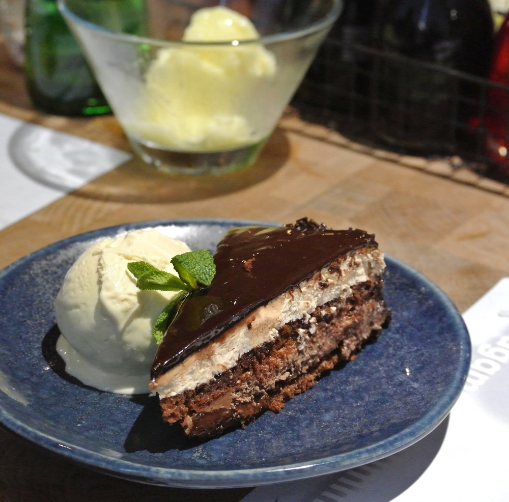 Wagamama Summer Menu - Chocolate Layer Cake