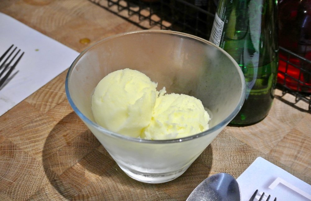 Wagamama Summer Menu - Lemongrass & Lime Sorbet