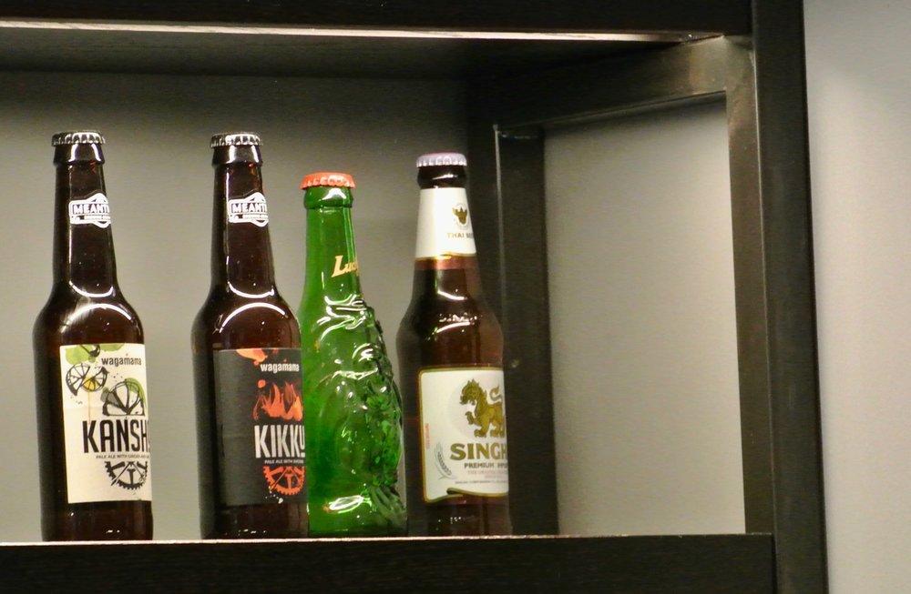 Wagamama Summer Menu - House Beers - Kikku & Kansho
