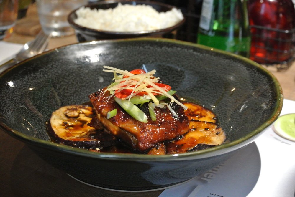 Wagamama Summer Menu - Sticky Pork Belly