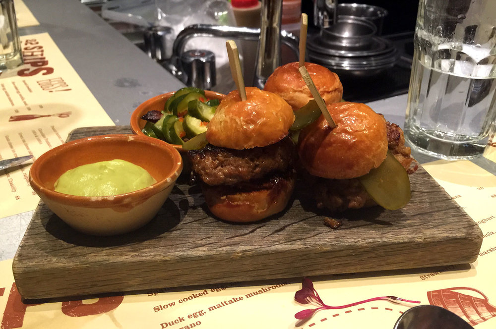 berkshire pork and foie gras burgers 22 ships