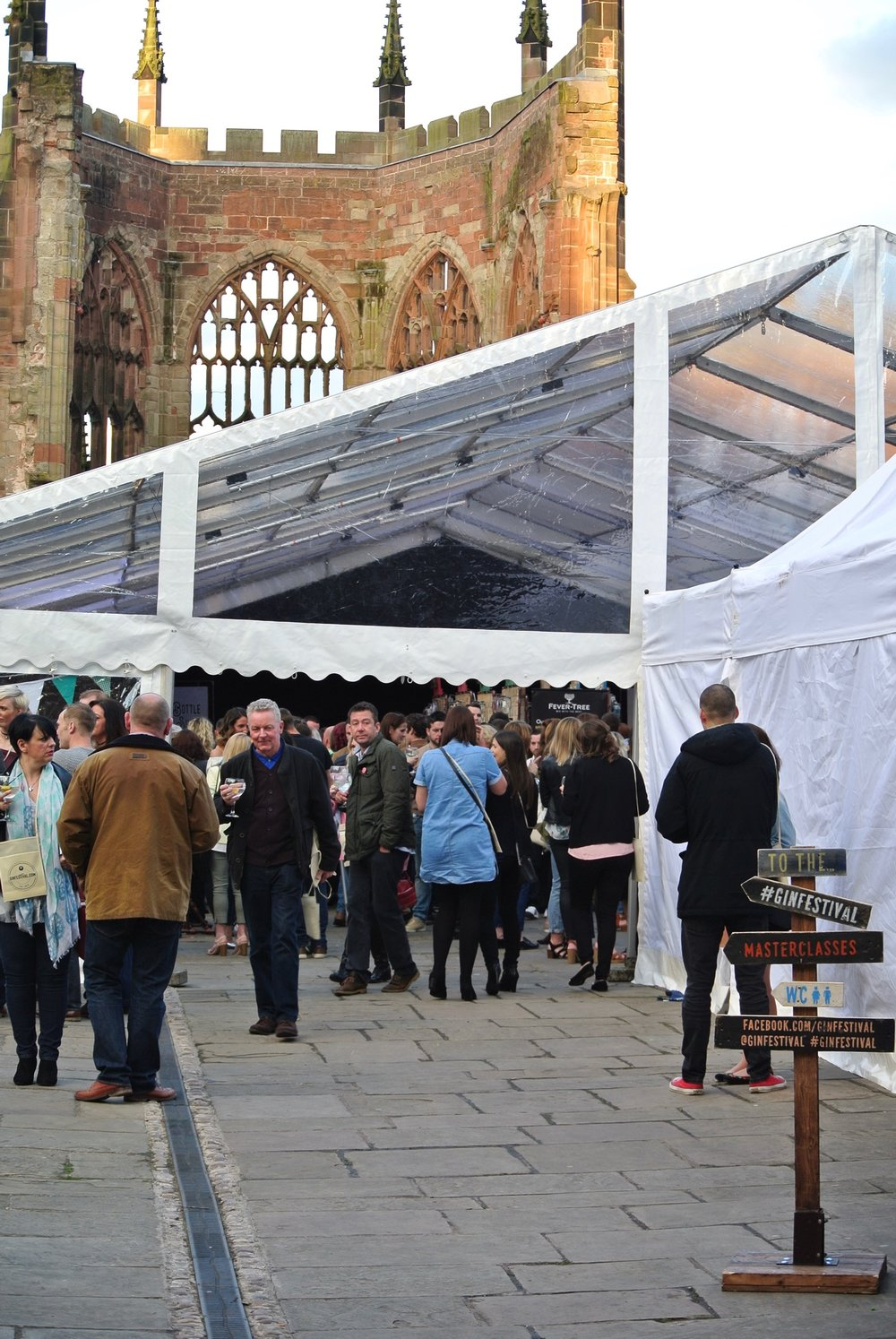 Gin Festival Coventry Entrance