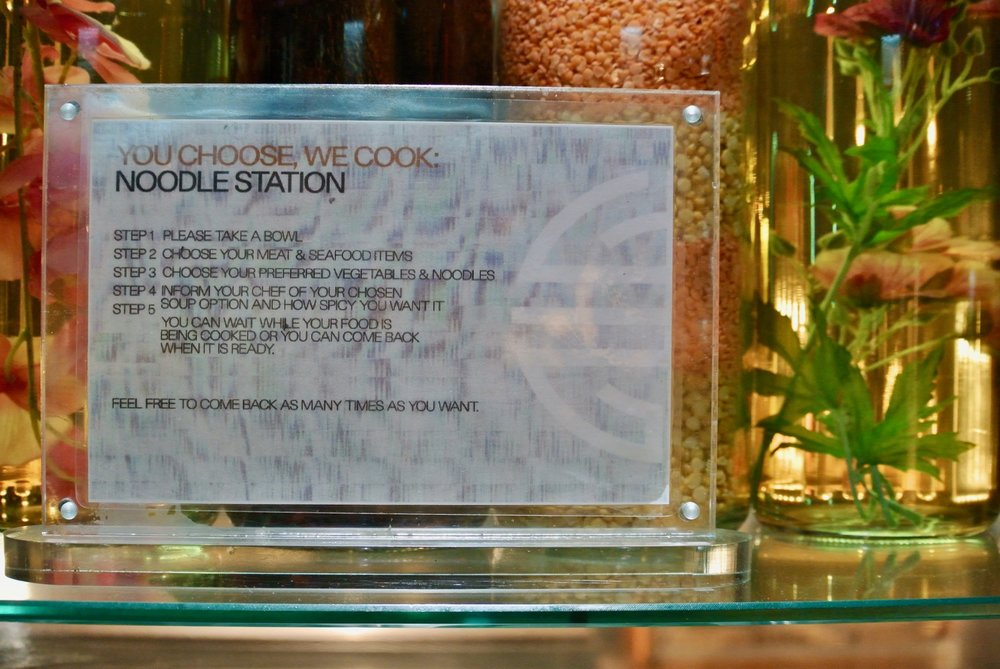 Cosmo Coventry Noodle Station Instructions