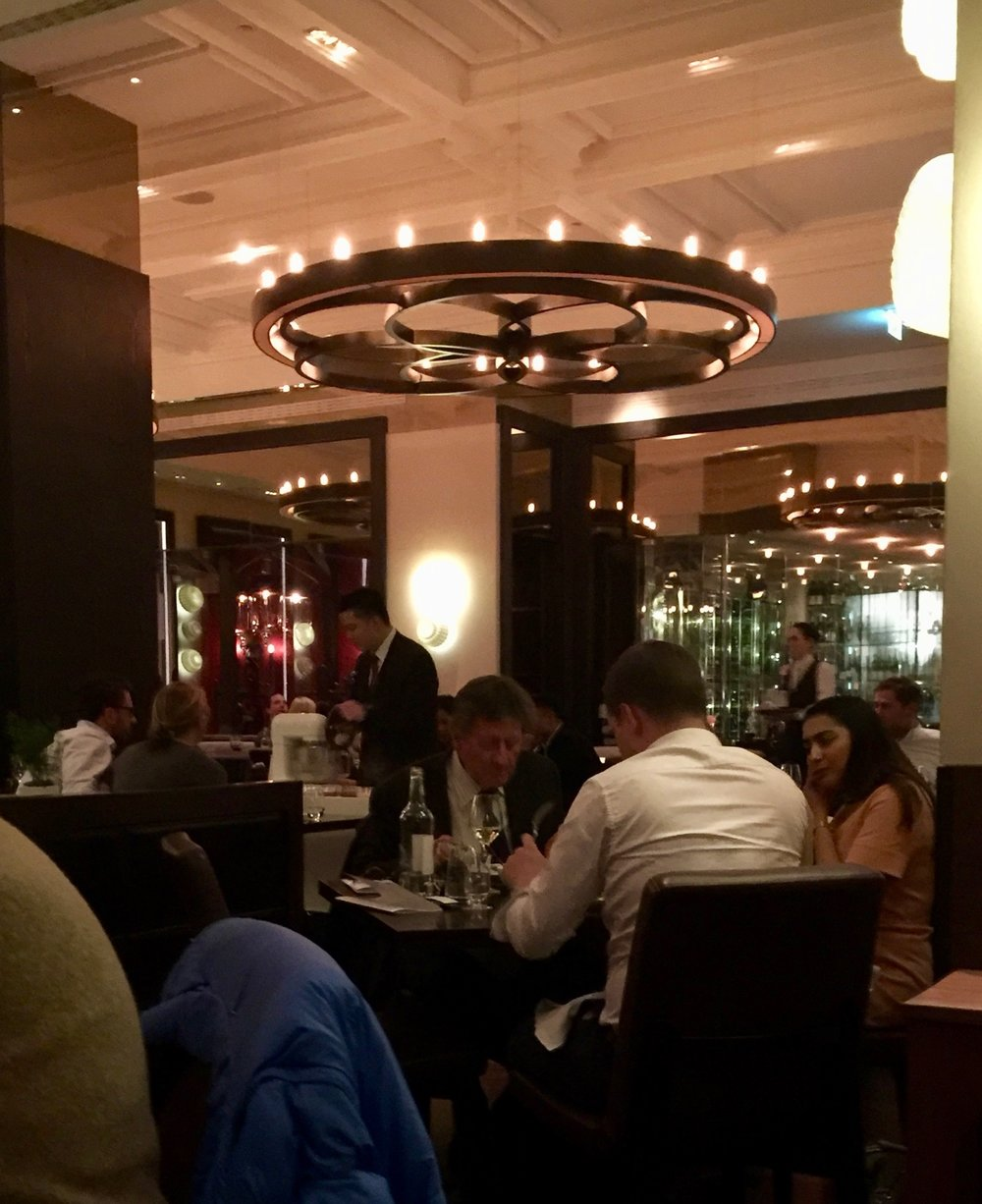 Dinner by Heston Knightsbridge Dining Room