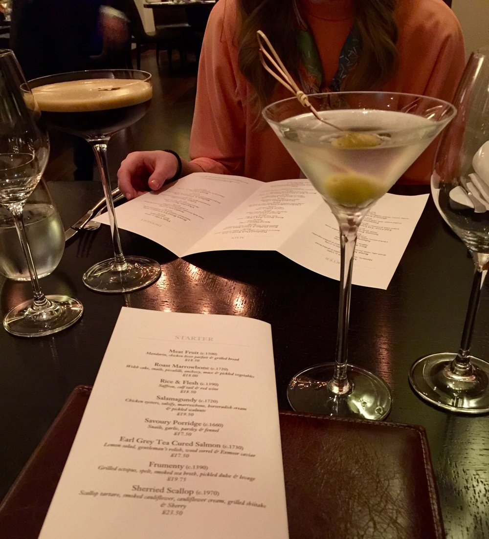 Cocktails at Dinner by Heston Knightsbridge