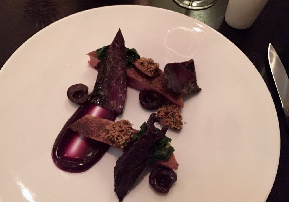 Powdered Duck Breast at Dinner by Heston Knightsbridge