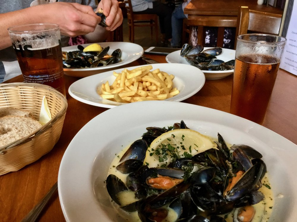 Moules et Frites The Fishbourne Ryde