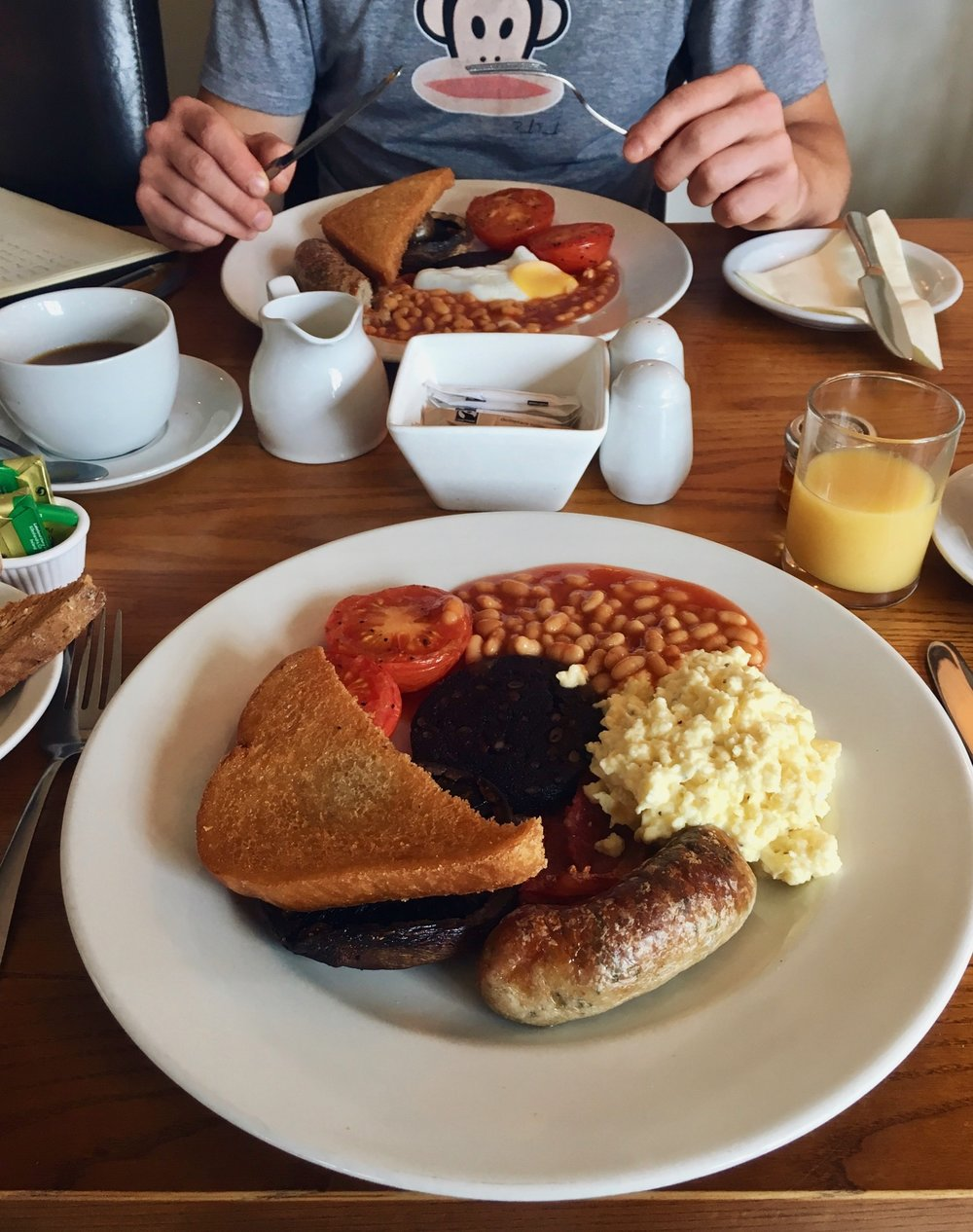 The Fishbourne Ryde Breakfast