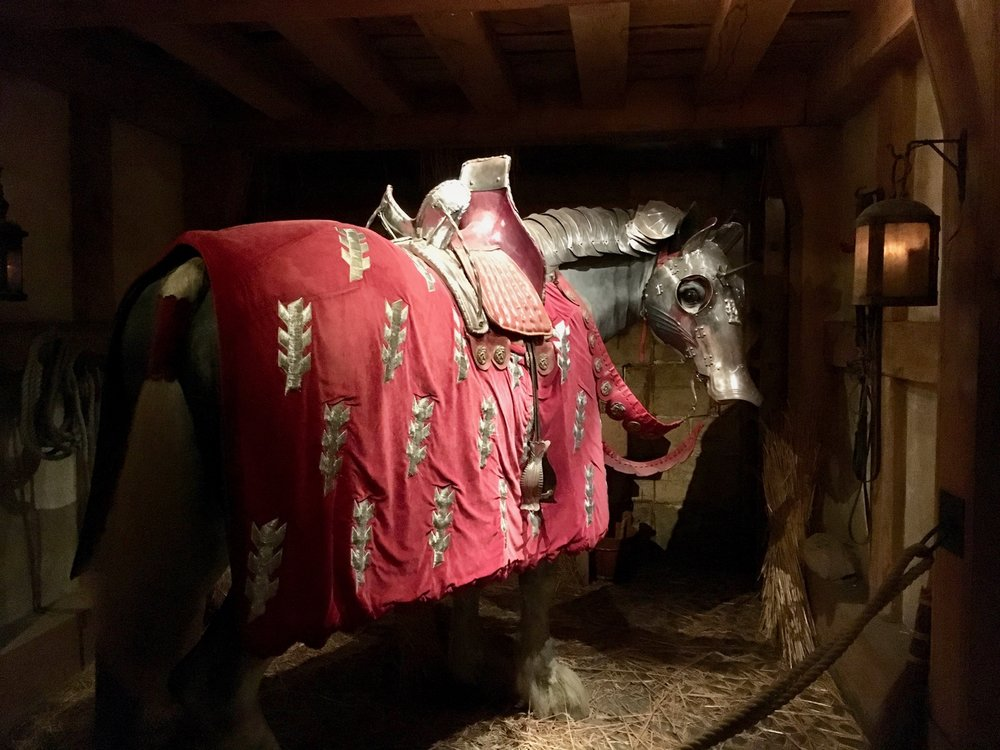 Warwick Castle Events Kingmaker War Horse