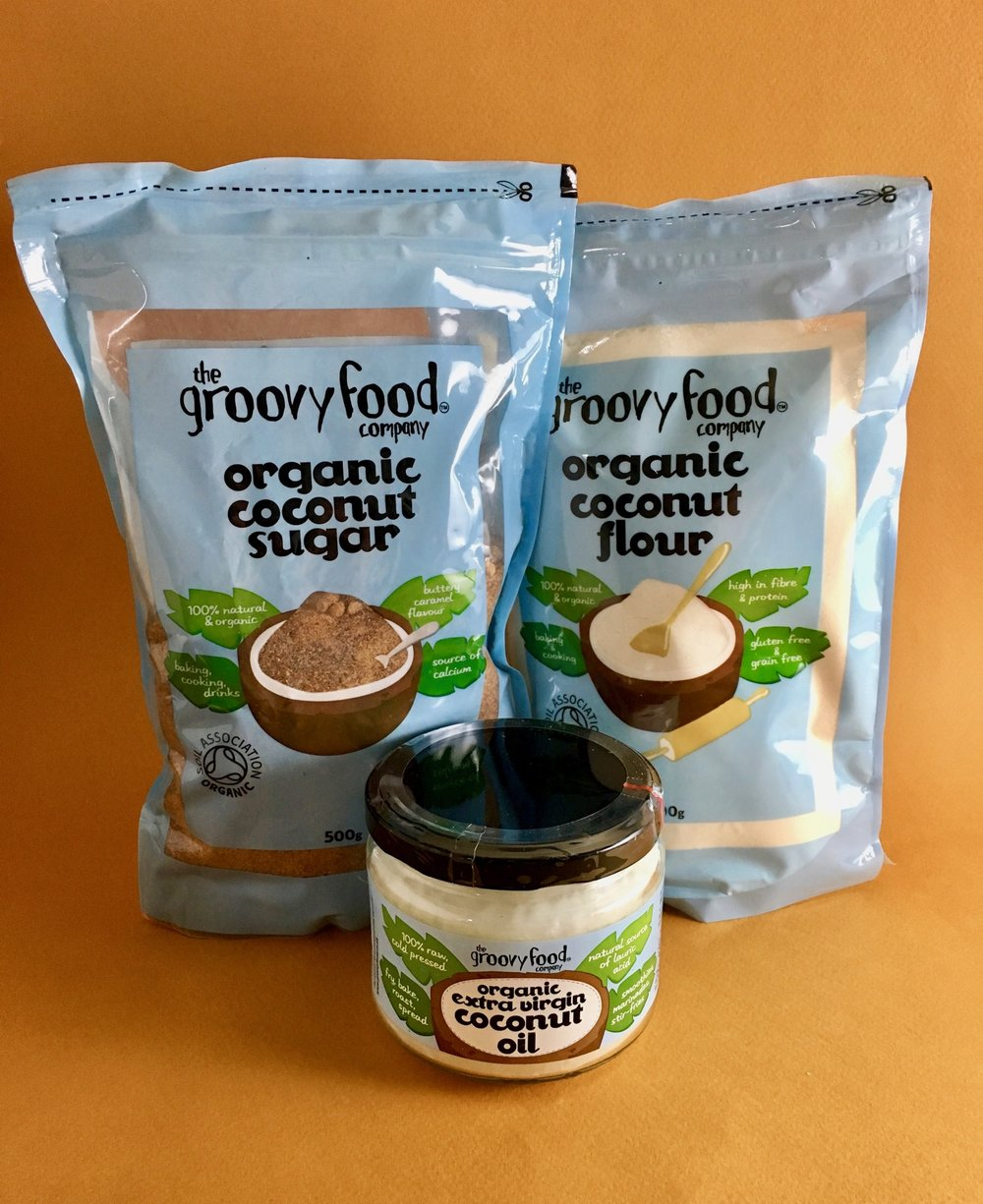 organic coconut products by groovy food