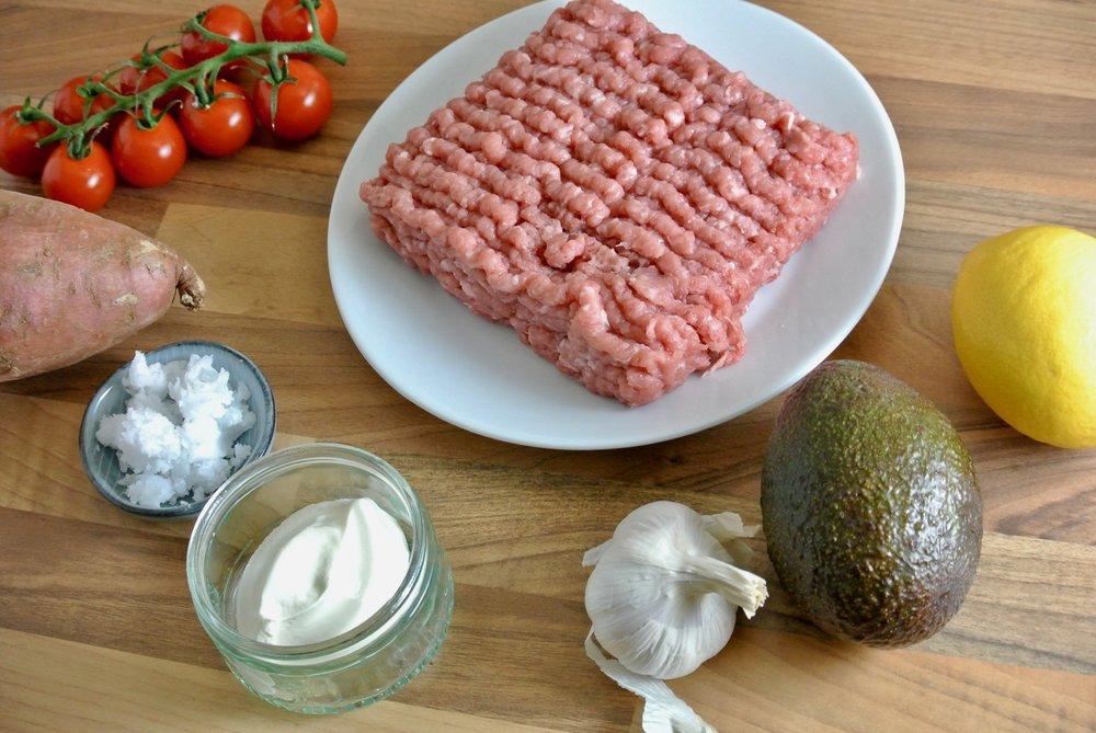 Groovy Food Turkey Burger Ingredients