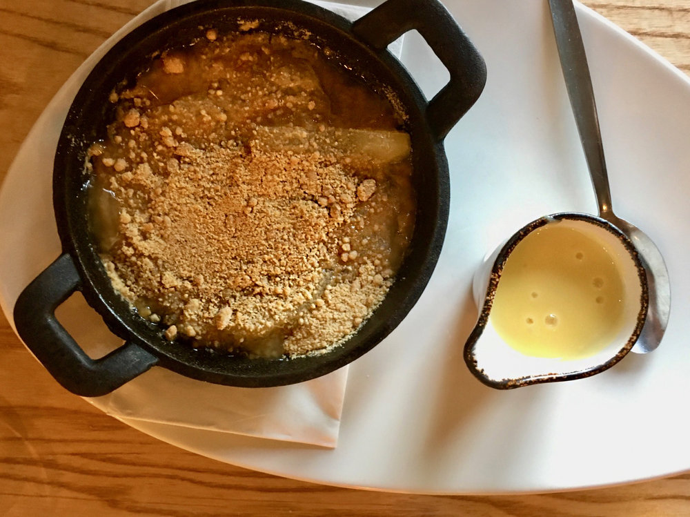 Oldbury Cookhouse and Pub Cider Apple Crumble