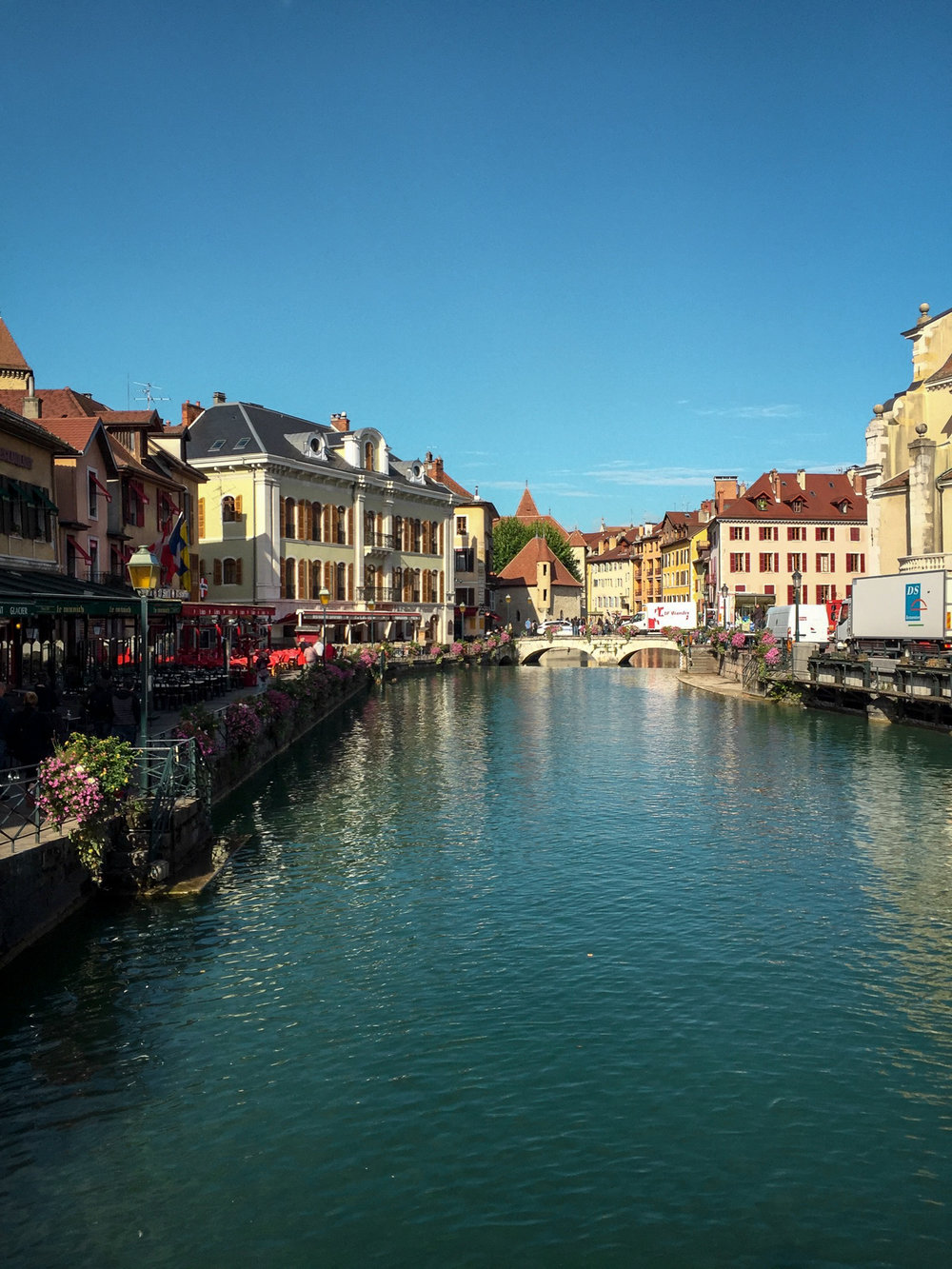 Beautiful Annecy in late summer