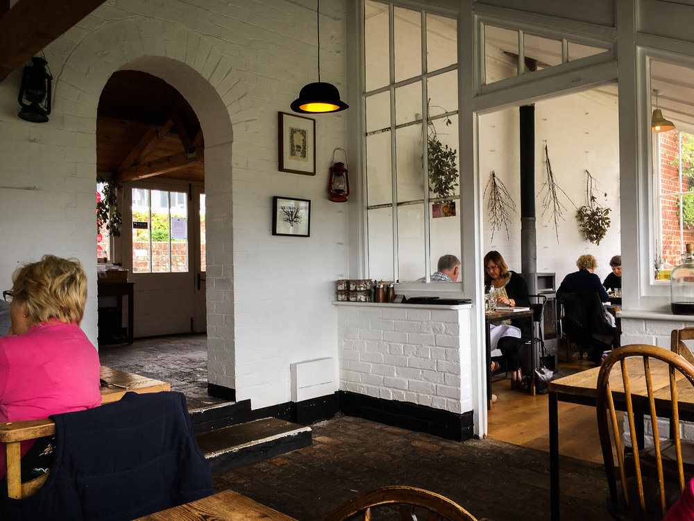 The Ethicurean Dining Room