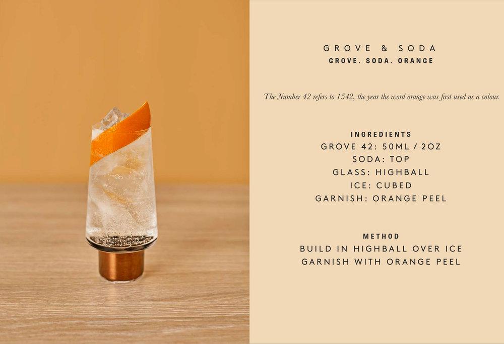 Grove and Soda - Seedlip Grove 42 Cocktail Recipe - image via Seedlip