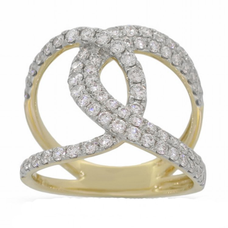 ER01258  -  0.87 ct, 14K Set In Yellow Gold.    List Price: $3,636      Our Price: $2,899