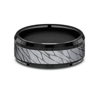 CF108815BKTGTA  - 8 mm Black Tungsten Band.  List Price: $615    Our Price: $410