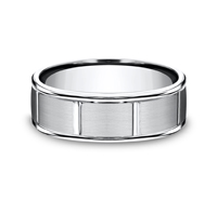 RECF77452CC  - 7 mm Cobalt Chrome Band.    List Price: $288      Our Price: $189