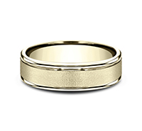 ***BEST SELLER***      CF7602S  - 6 mm 14K Yellow Gold Band.    List Price: $1,032      Our Price: $688