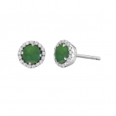 May Birthstone Stud Earrings  List Price: $135    Our Price $108