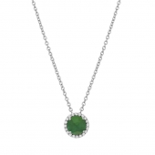May Birthstone Necklace.    List Price: $130      Our Price: $104