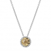 November Birthstone Necklace.    List Price: $130      Our Price: $104