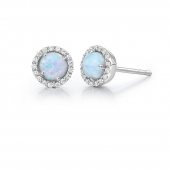 October Birthstone Stud Earrings.  List Price: $135    Our Price: $108