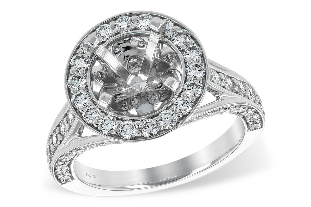 L7245  - 1.48 ct, Set In 14K White Gold.  List Price: $6,876    Our Price: $4,999