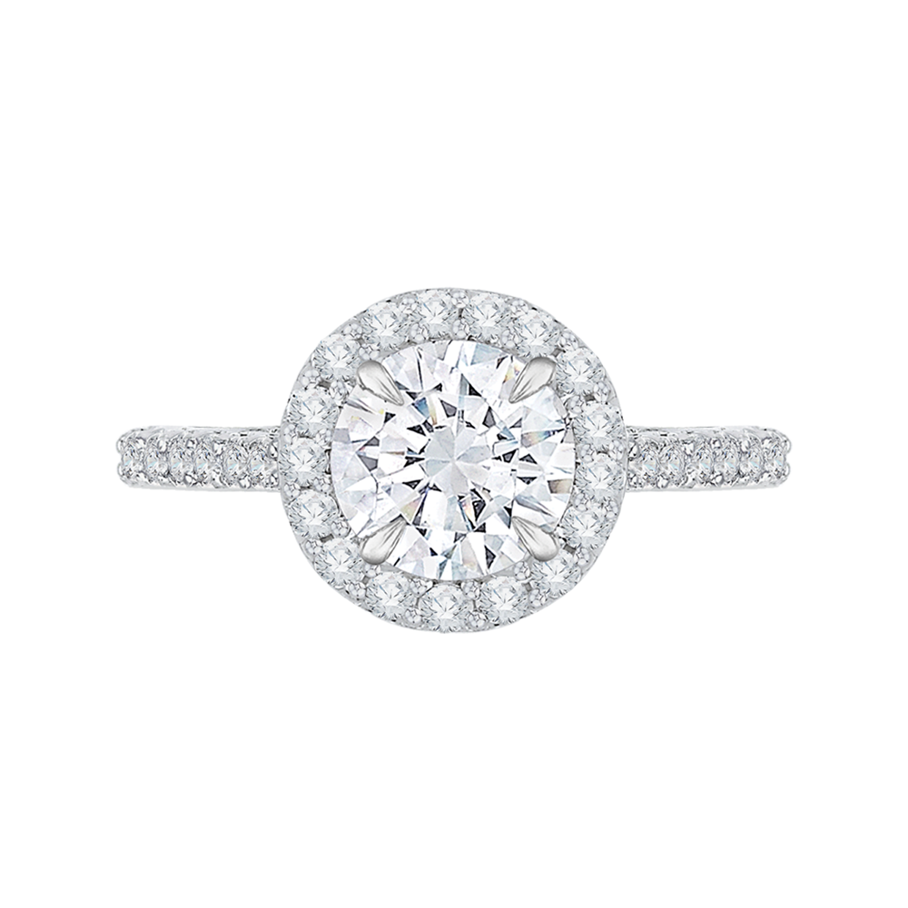 CA0034EK-37W  - 0.66ct. Set In 18K White Gold.    List Price: $2,750      Our Price: $2,199