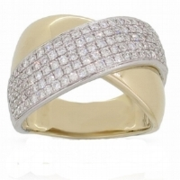 ER01270  - 0.88 ct Set In 14K Yellow Gold.    List Price: $4,320      Our Price: $3,456