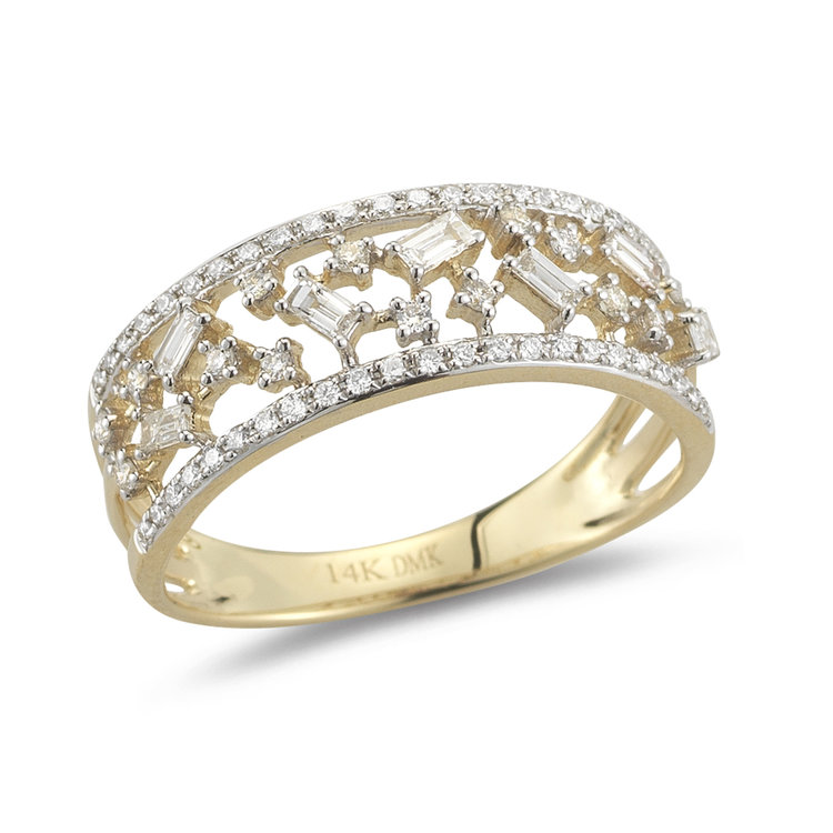 R15410  - 0.49 ct Set In 14K Yellow Gold.    List Price: $1,963      Our Price: $1,570