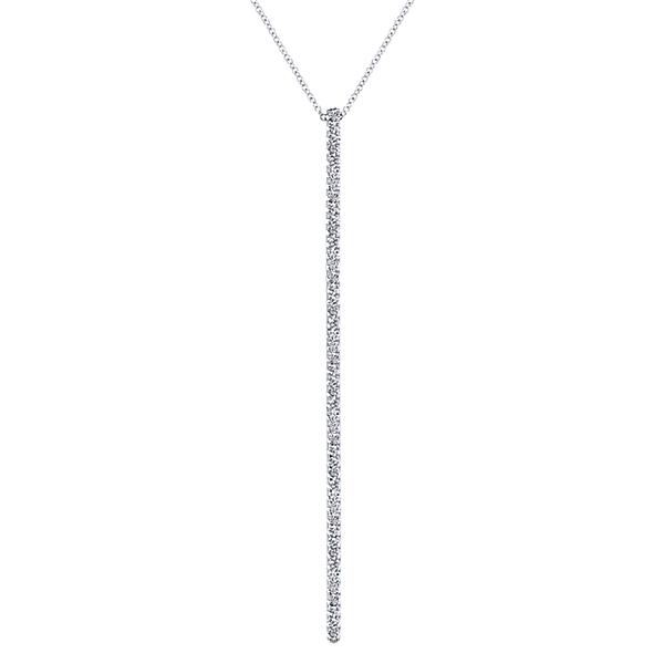 NK5283W45JJ  - 1.01 ct Set In 14K White Gold.  List Price: $2,200