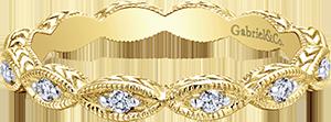 LR4381Y45JJ  – 0.11 ct Set In 14K Yellow Gold.  List Price: $475