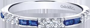 LR4572W44SA  – 0.39 ct dia Set In 14K White Gold.  List Price: $1,330