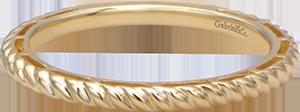 LR4582Y4JJJ  – 14K Yellow Gold Band.  List Price: $285