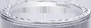 LR4909CW4JJJ  – 14K White Gold Band.  List Price: $220