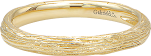 LR5648Y4JJJ  – 14K Yellow Gold Band.  List Price: $340