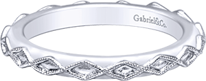 LR5962-7SVJJJ    – Sterling Silver Band.    List Price: $75      Our Price: $60
