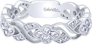 LR6320W45JJ    – 0.45 ct 14K White Gold Band.    List Price: $1,135      Our Price: $908