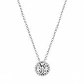 April Birthstone Necklace.  List Price: $130    Our Price: $104